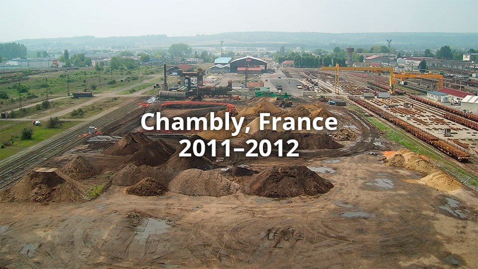 SNFC, Chambly, France 2011–2012