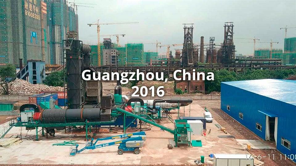 Guangzhou, Kiina 2016