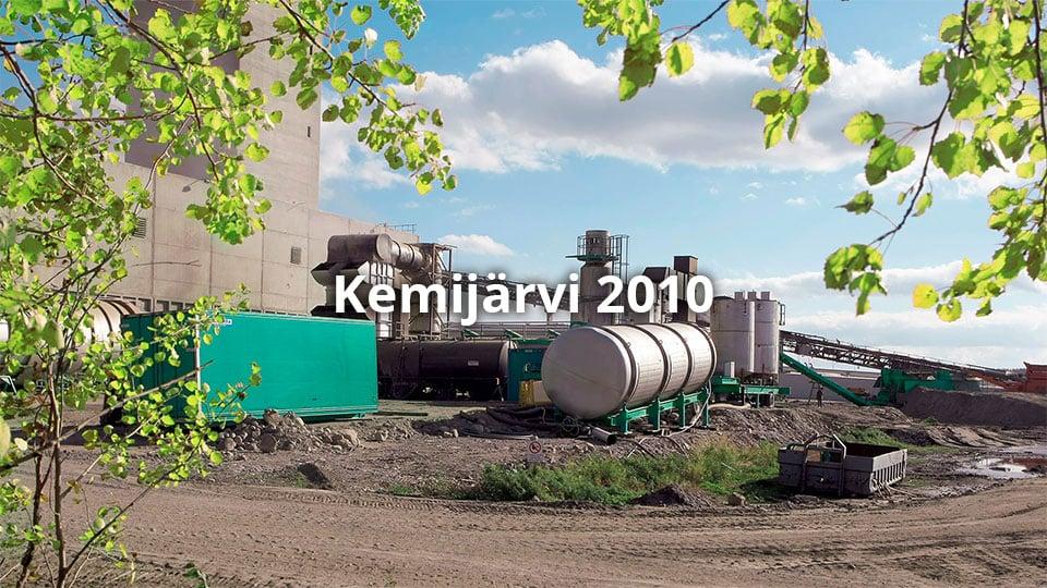 Kemijärven sellutehdas 2010