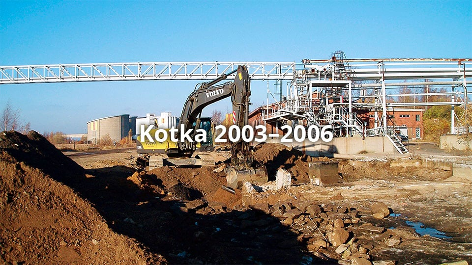 Kotka oil harbour 2003–2006