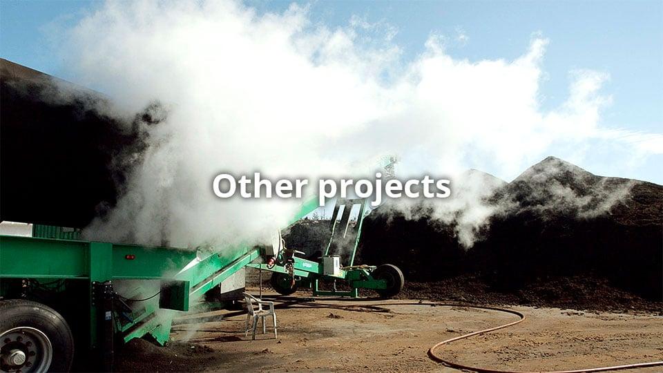 Muut projektit / on-site, off-site, lietteenkäsittely