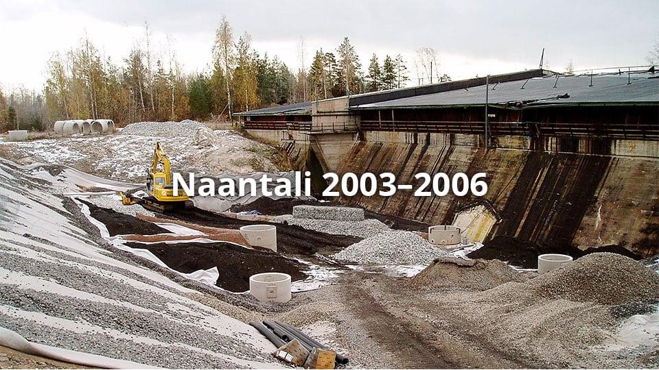 Naantali oil refinery 2003–2006