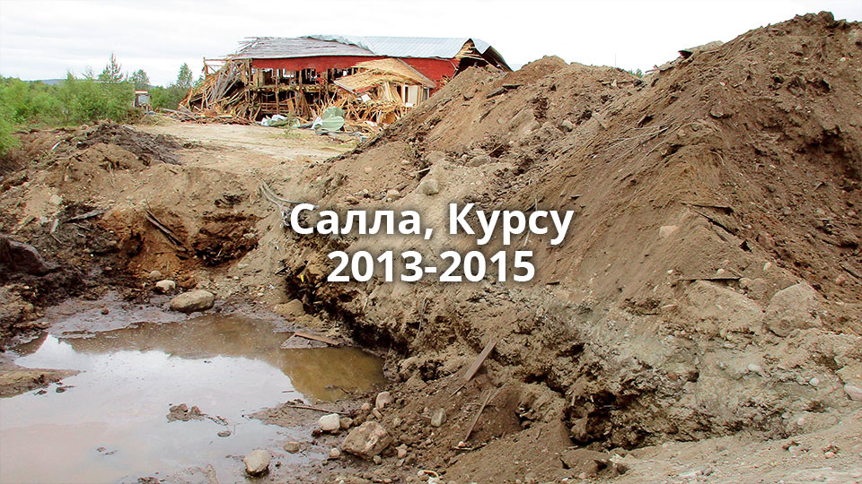 Salla, Kursu 2013–2015